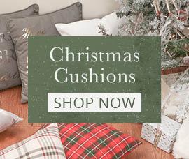 Festive Purple And Gold Merry Christmas Cushion