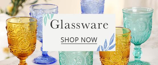 Shop more glassware collection
