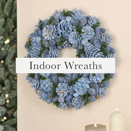Indoor Christmas Wreaths