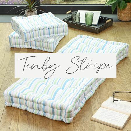 Tenby Stripe Linen