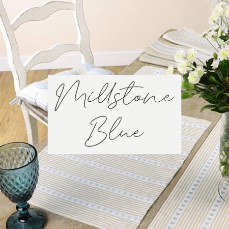Millstone Blue Linen