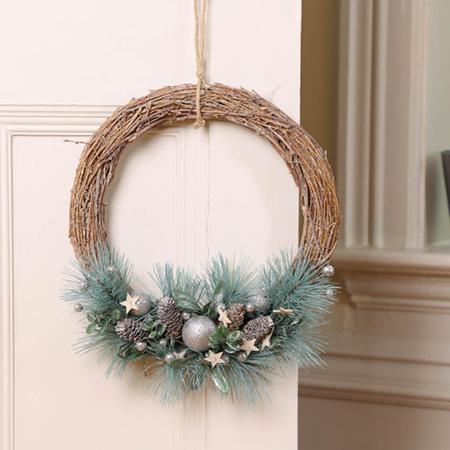 Indoor Christmas Wreaths