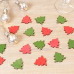 Wooden Christmas Tree Table Scatter Decorations