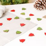 Wooden Christmas Tree Table Scatters