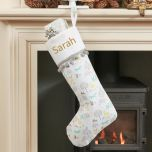 Woodland Animal Friends Christmas Stocking