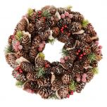 Iced Winter Wreath