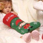Eric the Elf Personalised Children's Christmas Stocking