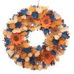 Front Door Wreath for Autumn