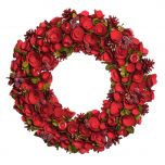 Red Crimson Rose Extra Large Wreath