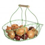 Chickenwire vegetable trug