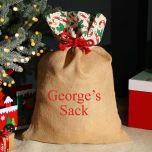 Large Jute Festive Sack