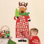 Reindeer Personalised Advent Calendar