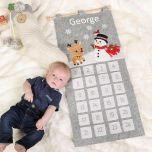 Reindeer and Snowman Personalised Advent Calendar