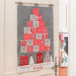 Personalised White Christmas Advent Calendar