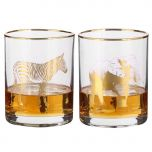 Gold Whisky Tumblers