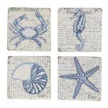 Nautical Sea Creature Coasters