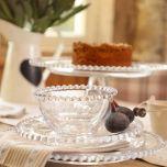 Bella Perle Beaded Edge Glassware Collection