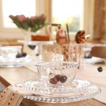 Luxury 18 Piece Bella Perle Dinner Set