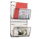 Woven Chicken Wire Wall mounted Storage