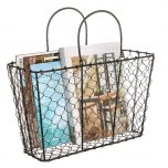 Industrial Style Storage Basket