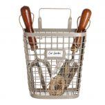 Garden storage basket
