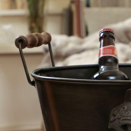 'Le Bar' Large Beer Bucket