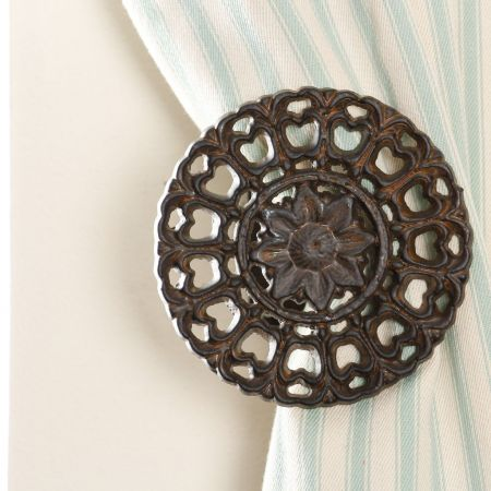 Mandala Style Curtain Tie Back