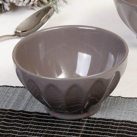 Grey Ceramic Cereal Bowls