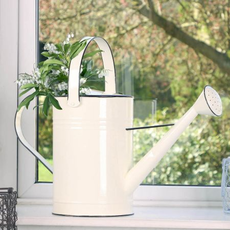 Vintage Style Florists Watering Can Planter