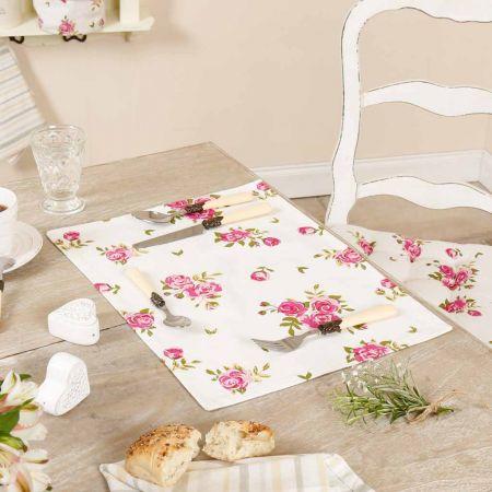 Helmsley Blush Vintage Floral Placemat