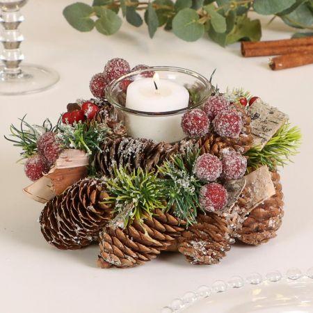 Christmas Tealight Candle Holder