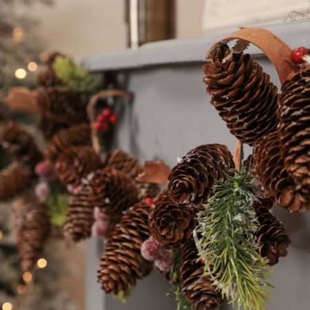 Forest Christmas Garland Decoration