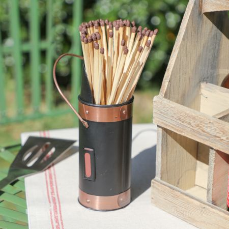 BBQ Matches Canister with Extra Long Matches