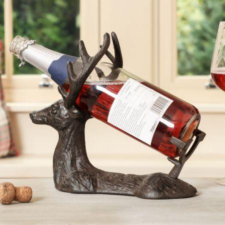 Stag Wine Bottle Holder