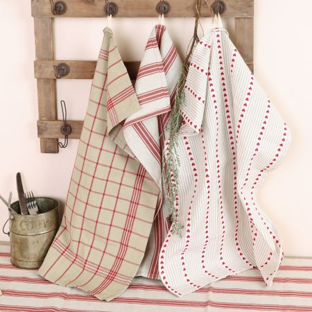 Set of French Country Tea Towels