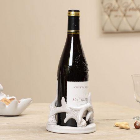 ceramic wine bottle holder