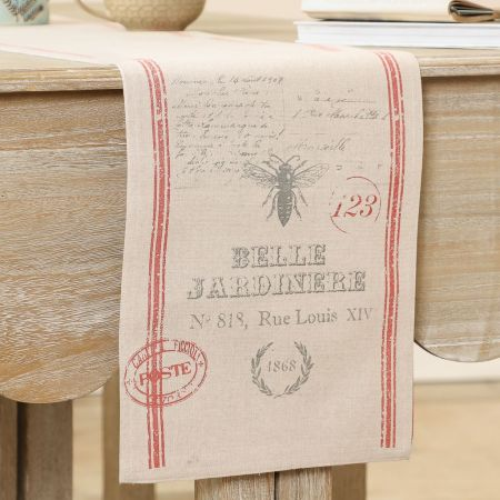 French Country Style Table Runner