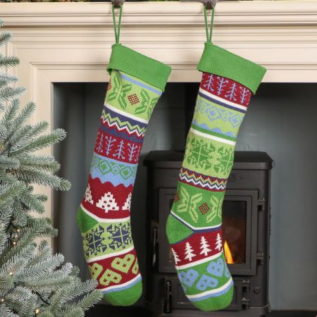 Inspired By Nature Collection Christmas Stockings