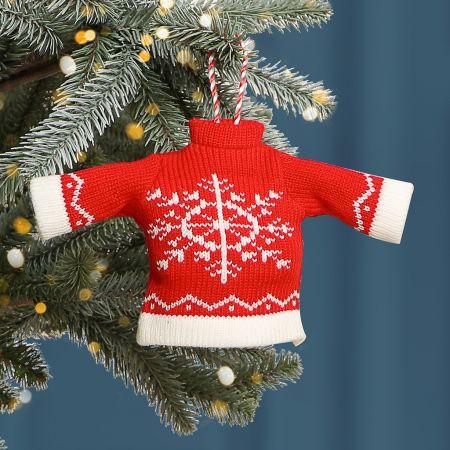 Festive Jumper Christmas Tree Decoration