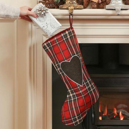 Highland Tartan Christmas Stocking
