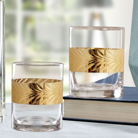 Clear Glass Round Tumblers
