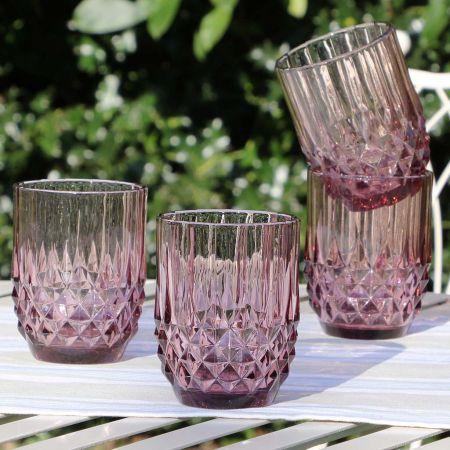 alfresco purple glassware