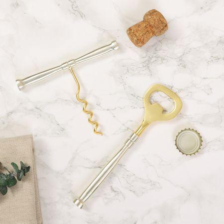 Corkscrew and Bottle Opener Gift Set