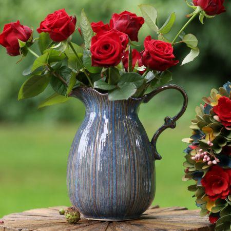vintage style flower vase