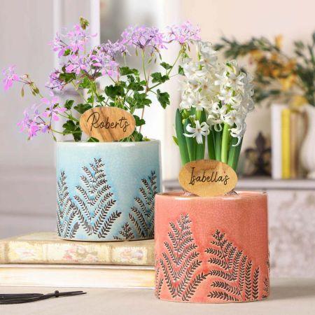 Couple's Plant Pot Gift Set