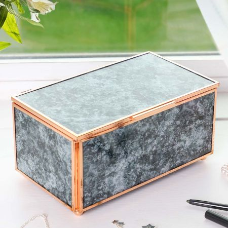 Rose Marble Jewellery Box