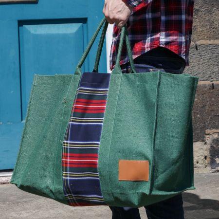 Highland Log Bag Green