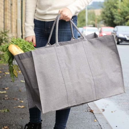 Large Grey Bag for Life