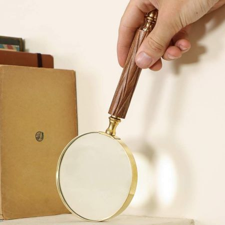 Wood Magnifying Glass