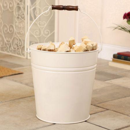 Ivory Kindling Bucket